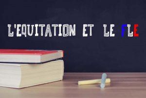 L'ÉQUITATION ET LE FLE